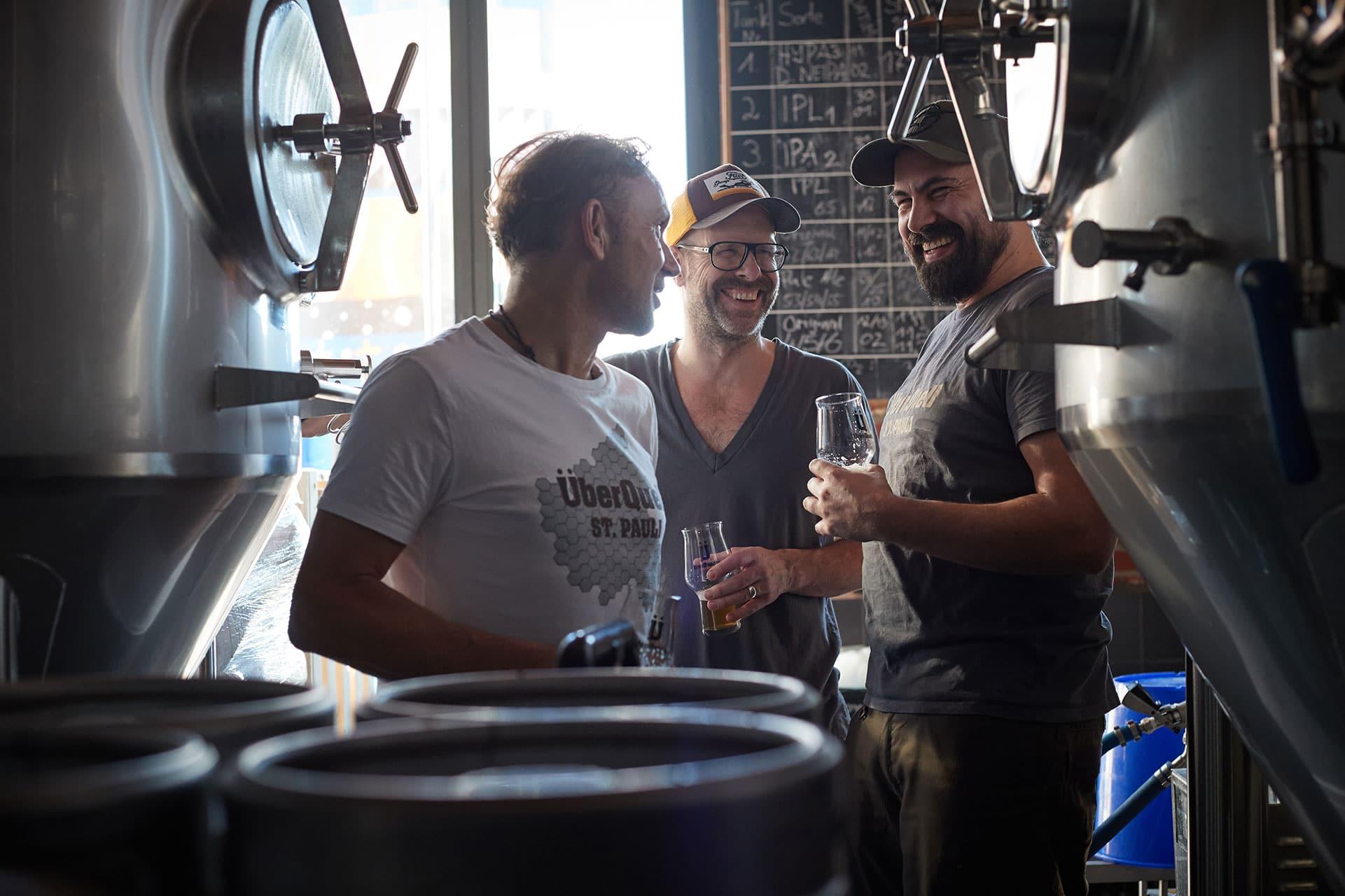 ÜberQuell Team Brauerei - So nachhaltig kann Craft Beer sein!
