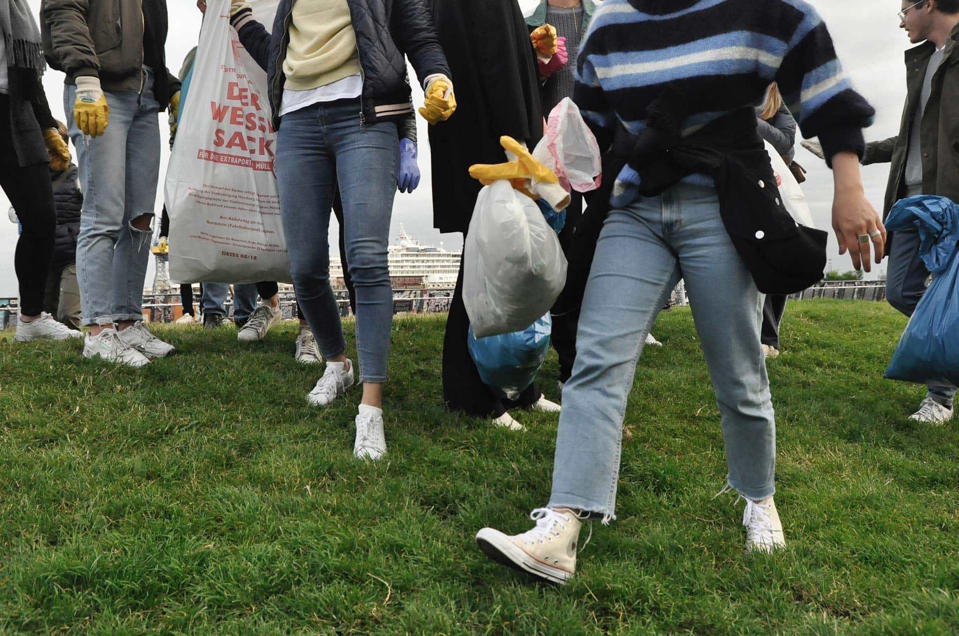 Clean Hamburg - Für ein sauberes Hamburg: Oclean gegen Plastik