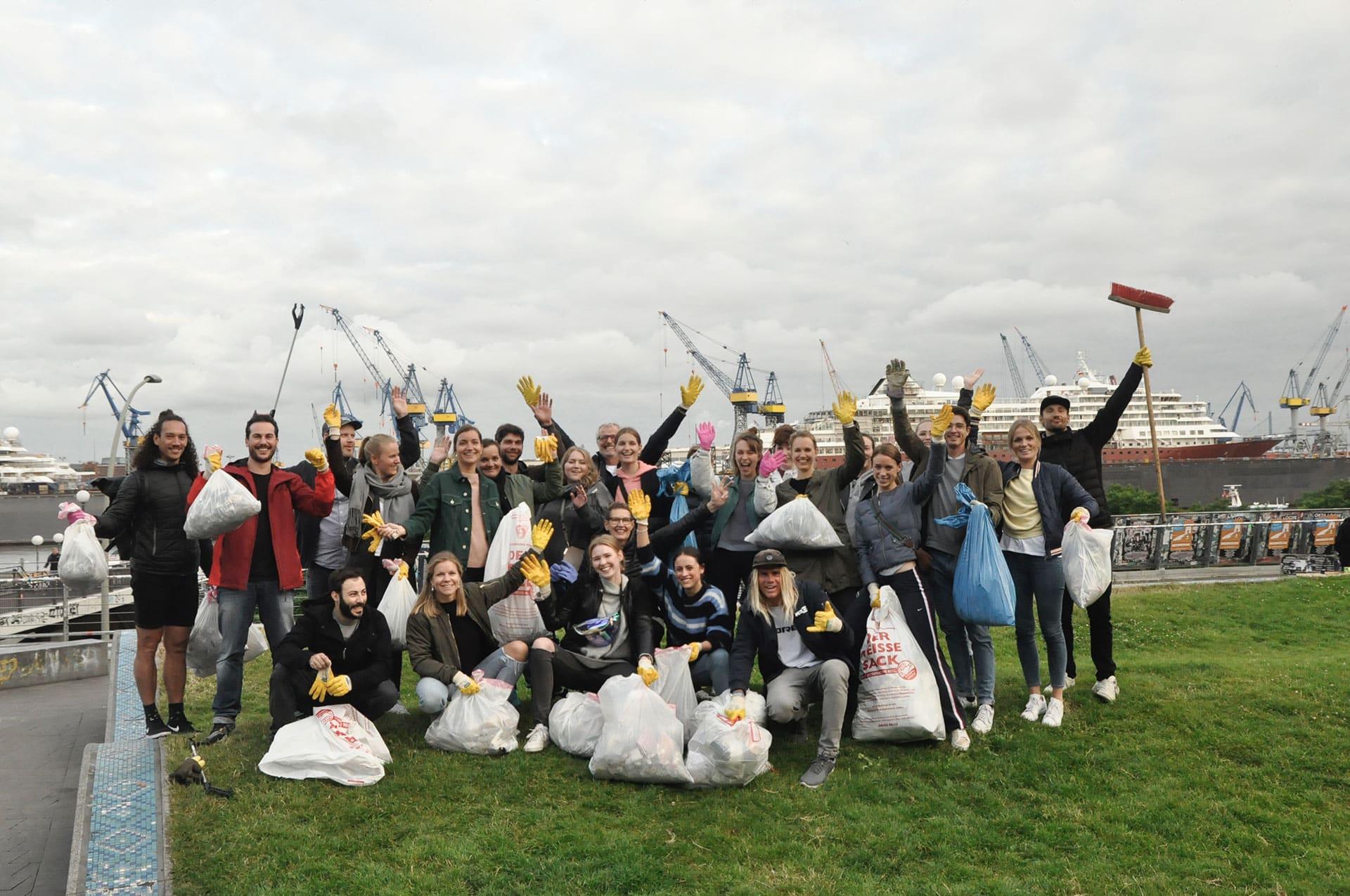 Müllsammeln Hamburg - Für ein sauberes Hamburg: Oclean gegen Plastik