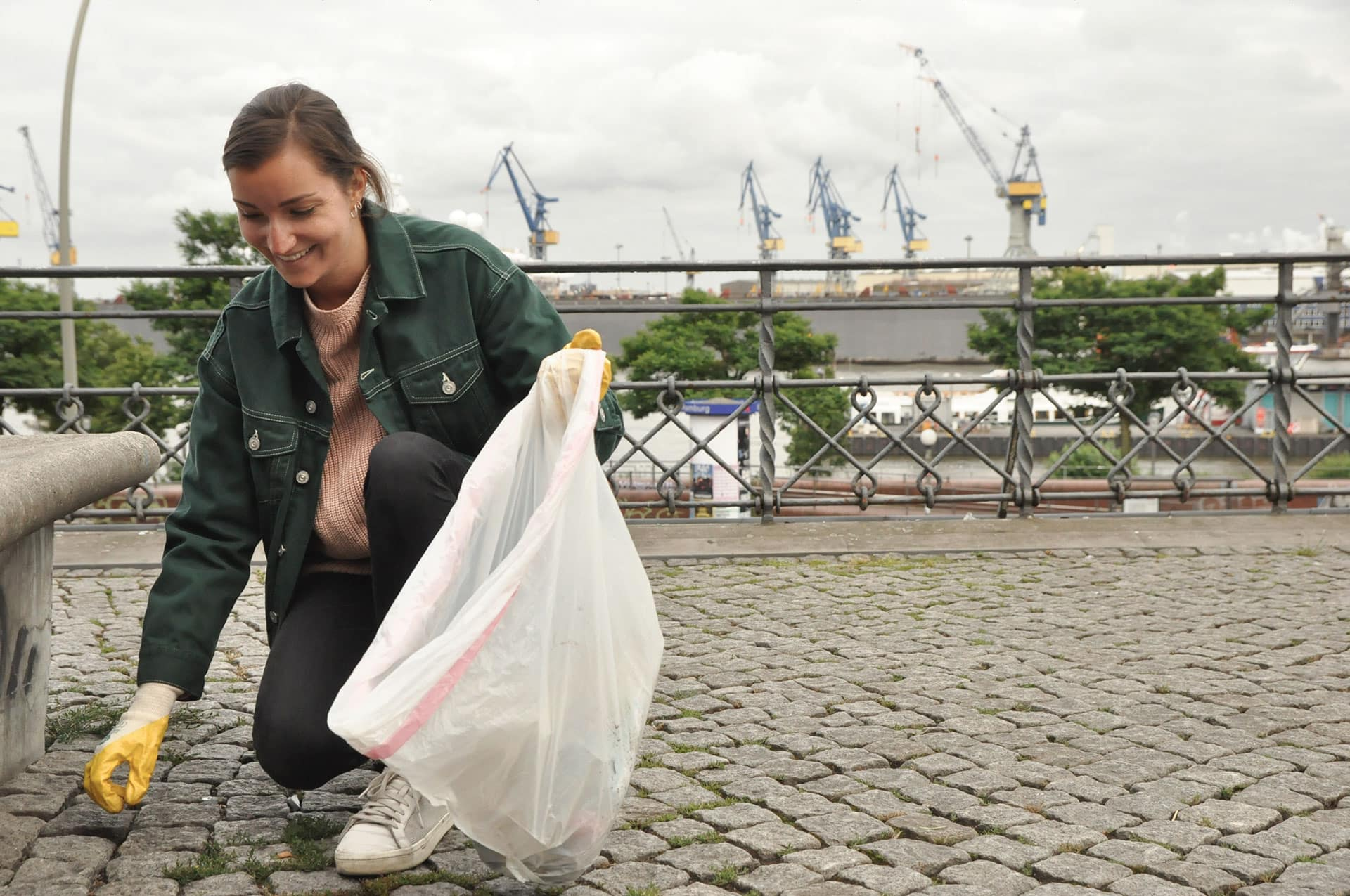 Oclean Hamburg - Für ein sauberes Hamburg: Oclean gegen Plastik