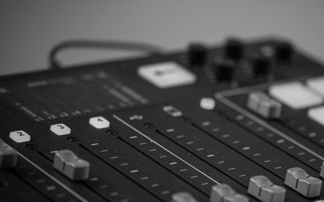 Unser Podcast-Studio
