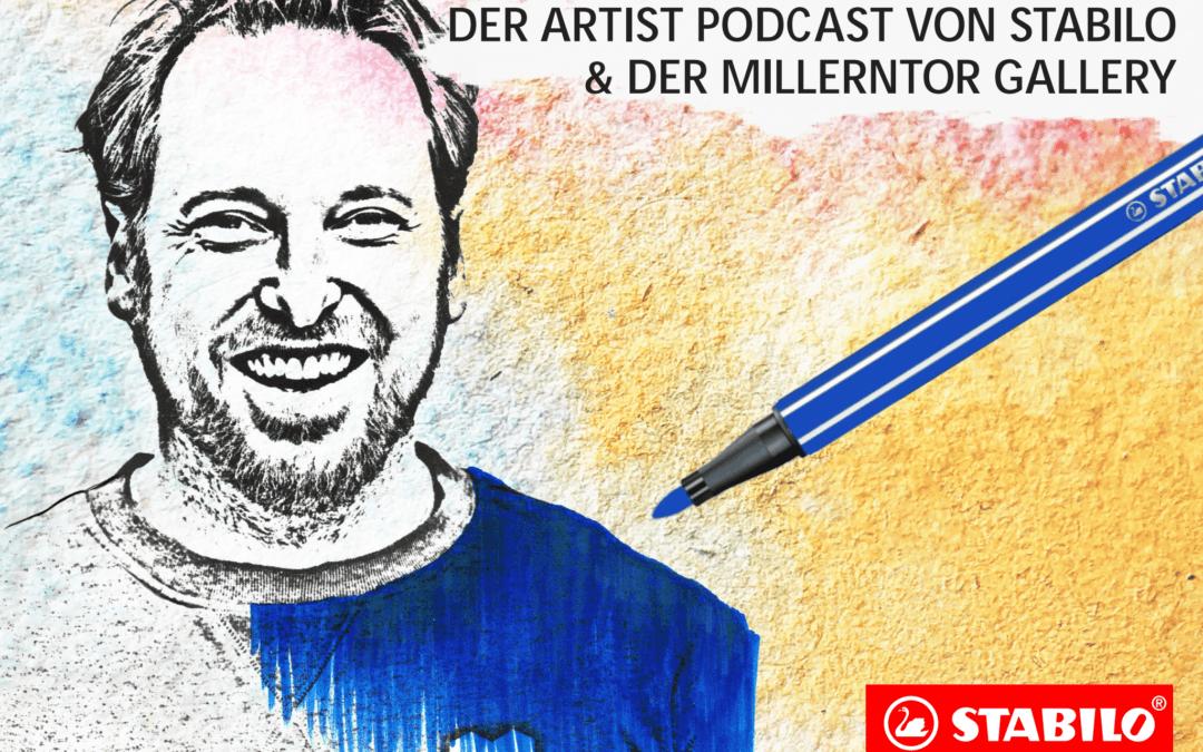 Der Artist Podcast von Stabilo & der Millerntor Gallery